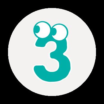 three:スリー